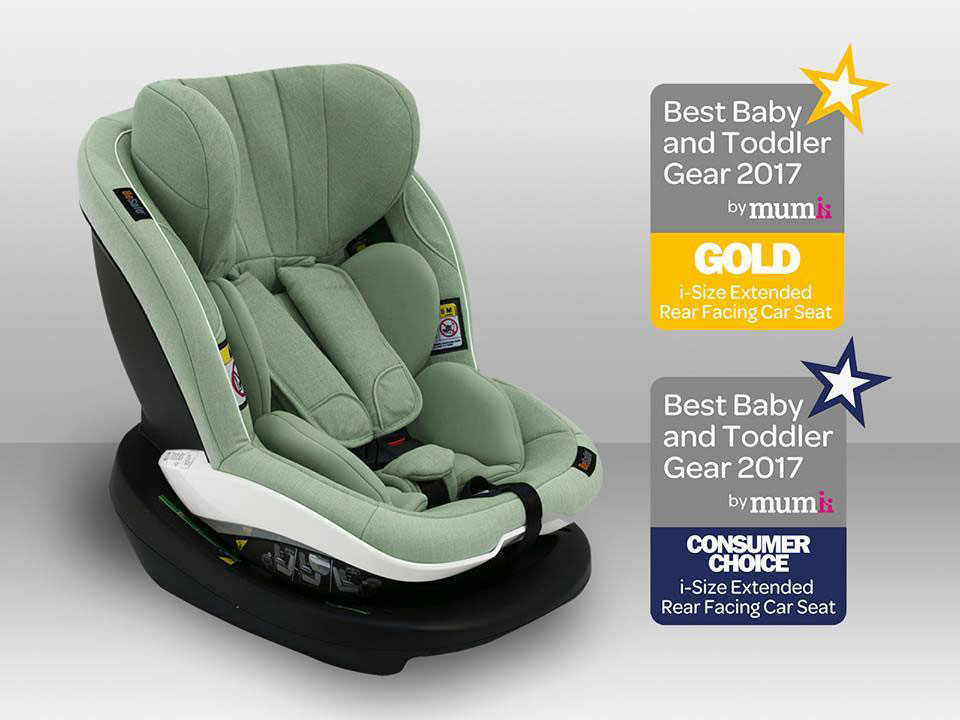 Las mejores y m s galardonadas sillas de coche besafe for Silla de seguridad coche